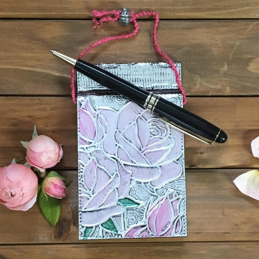 pewter-sheets-for-embossing-notebook-cover