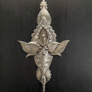 lotus-flower-metal-tattoo