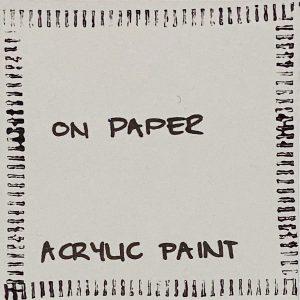 horizontal-lines-narrow-wheel-acrylic-paint-on-paper