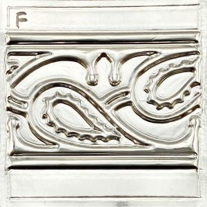 paisley-design-front-view-on-metal